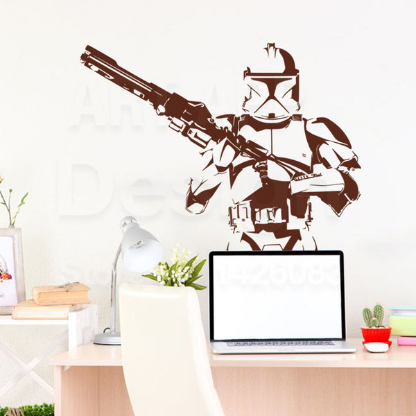 SWEET Imperial Stormtrooper Wall Decal
