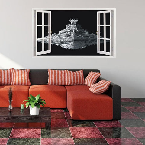 3D Star Destroyer Wall Decor - Special Edition