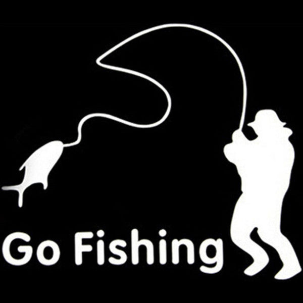 Go Fishing Decal