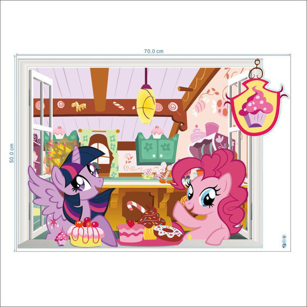 Adorable My Little Pony Wall Decals