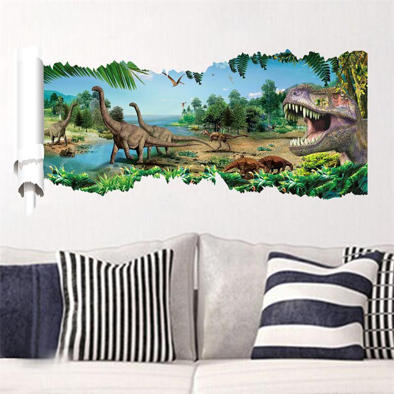 3D DINOSAUR WALL DECAL – EXTREMELY LIMITED