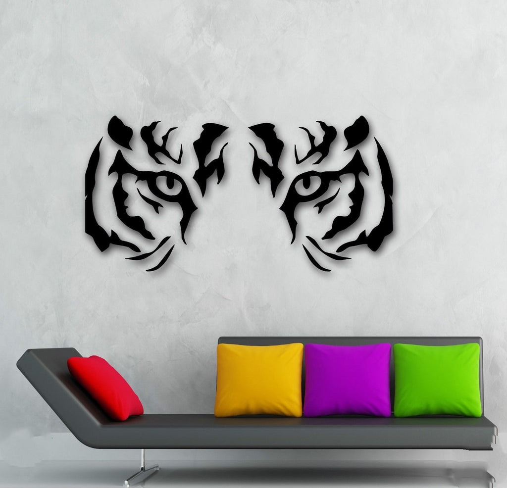 Stunning Tiger Eyes Wall Decal