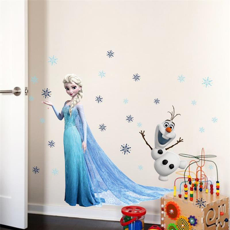 Frozen Wall Decals – Elsa & Olaf