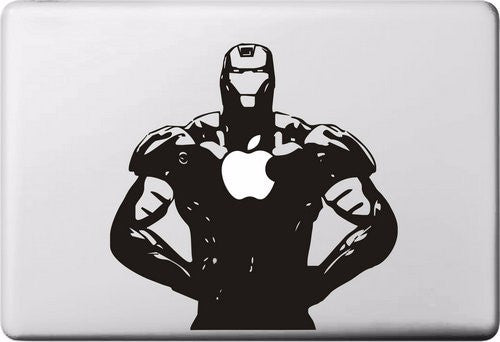 New Iron Superhero MacBook Cover Decal - 6 Styles - Limited Time!