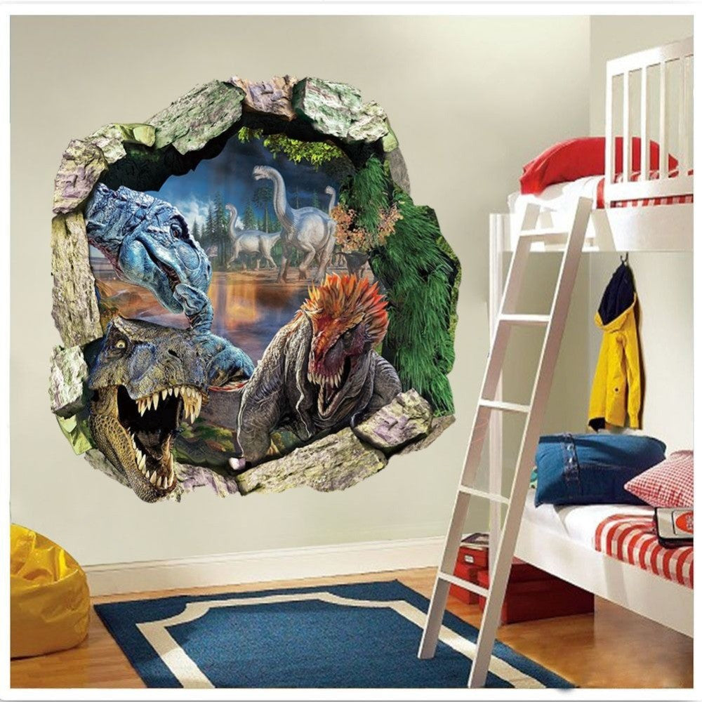 3D DINOSAUR WALL DECAL – SPECIAL EDITION!