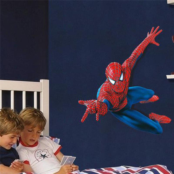 Amazing 3D Spider-Man Wall Decal