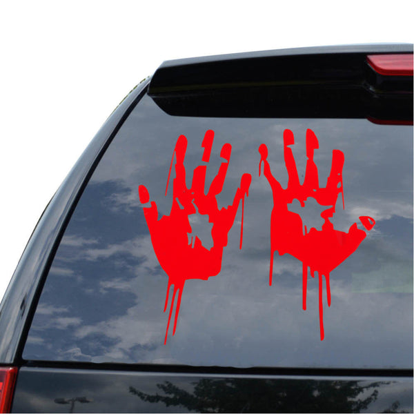 Bloody Zombie Hands Decal