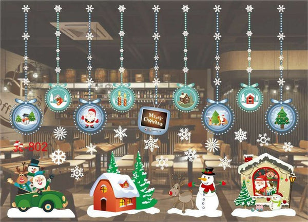 Assorted Holiday Decals - LIMITED EDITION