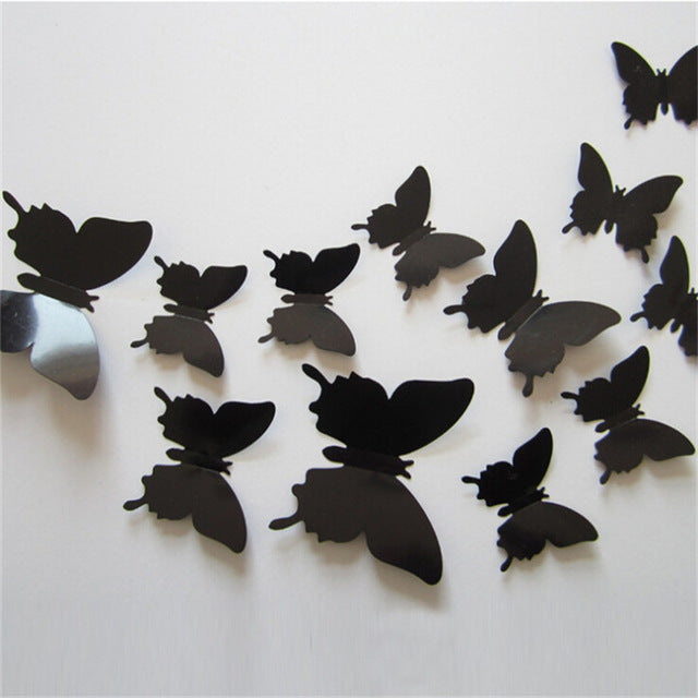3D DIY Butterfly Wall Decals - EXTREMELY LIMITED