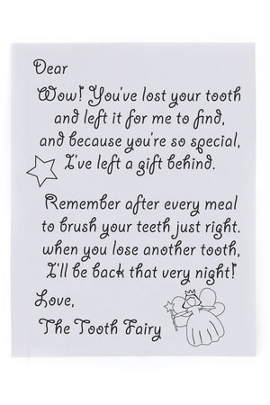 Tiny tooth fairy box