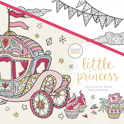 Little Princess colouring book