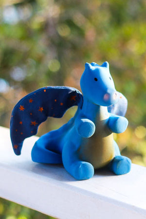 Magical Midnight Dragon Teether