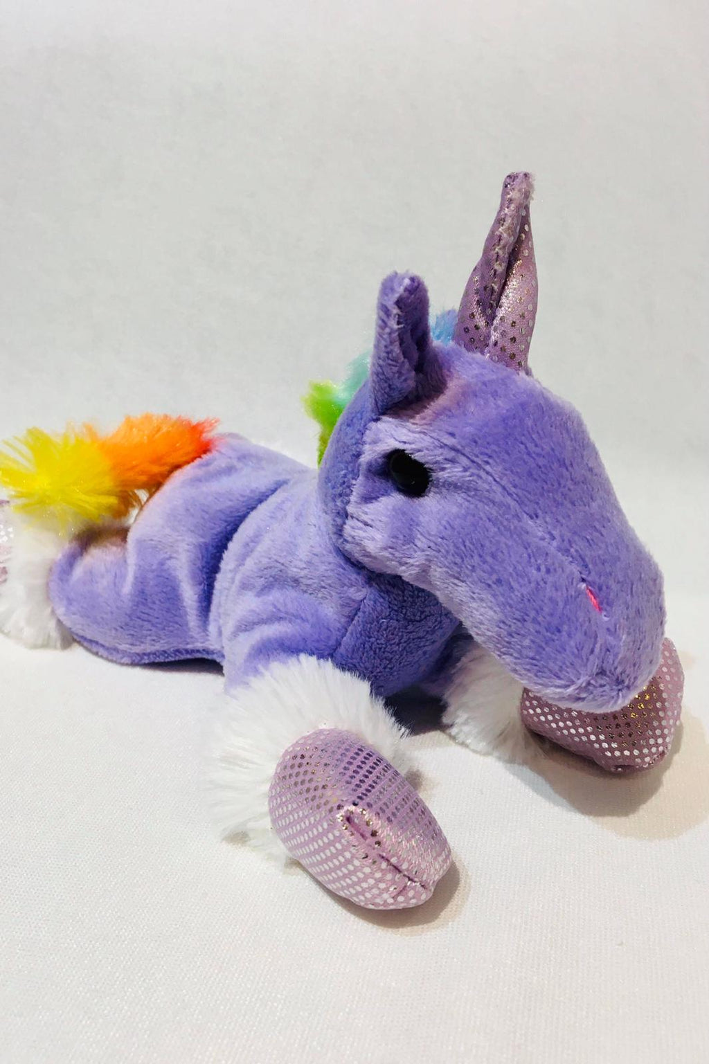 Soft and cuddly unicorn