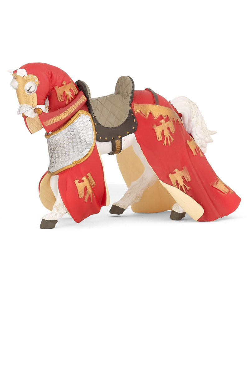 Red Draped Horse - Papo