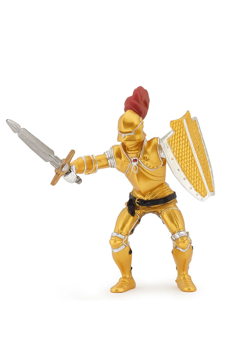 Knight In Gold Armour