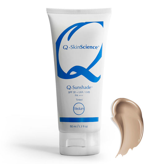 Q-Sunshade SPF 30+ UVA/UVB PA+++ Medium Tinted Sunscreen