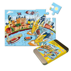 20 Piece Jigsaw Puzzle - Tower Bridge (Simplified)