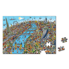 100 Piece Jigsaw Puzzle - City of London & The Shard - Full Colour