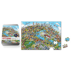 100 Piece Jigsaw Puzzle - London Looking East - Full Colour