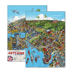 Hardback A5 Notebook - Our Wonderful Planet