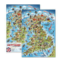 Hardback A5 Notebook - Jolly Britain