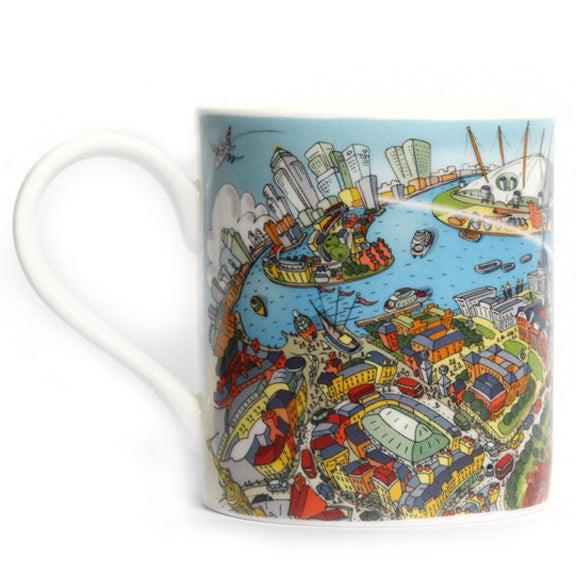 Fine-Bone China POP Mug - Maritime Greenwich - Full Colour