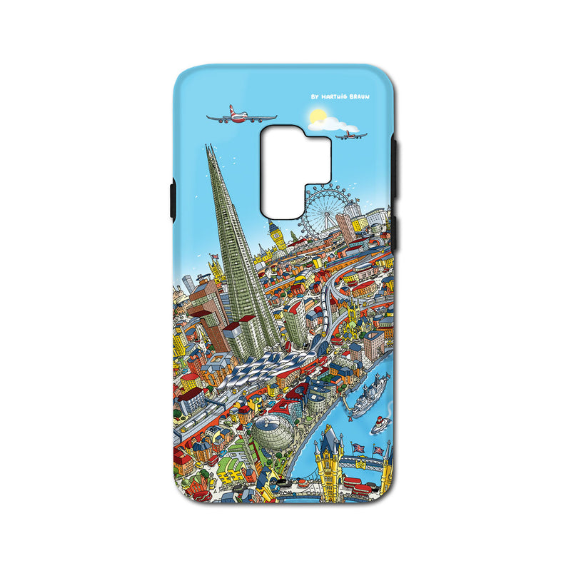 Smartphone 3D Case - London Around The Shard in Full Colours