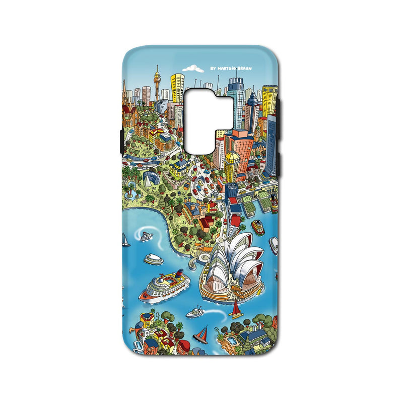 Smartphone 3D Case - Sydney Looking South in Full Colour