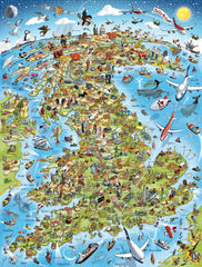 Large Art Print - Jolly Britain - Full Colours (Open Edition)