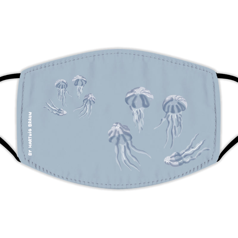 Face Mask With Filters - Jellyfish