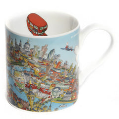 Fine-Bone China POP Mug - London Looking West - Full Colour