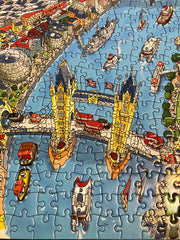 New & Exclusive - 1,000 Piece Jigsaw Puzzle in Tin Box - London Looking West