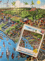 New & Exclusive - 1,000 Piece Jigsaw Puzzle in Tin Box - Royal Greenwich