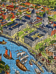 1,000 Piece Jigsaw Puzzle in Tin Box - Royal Greenwich