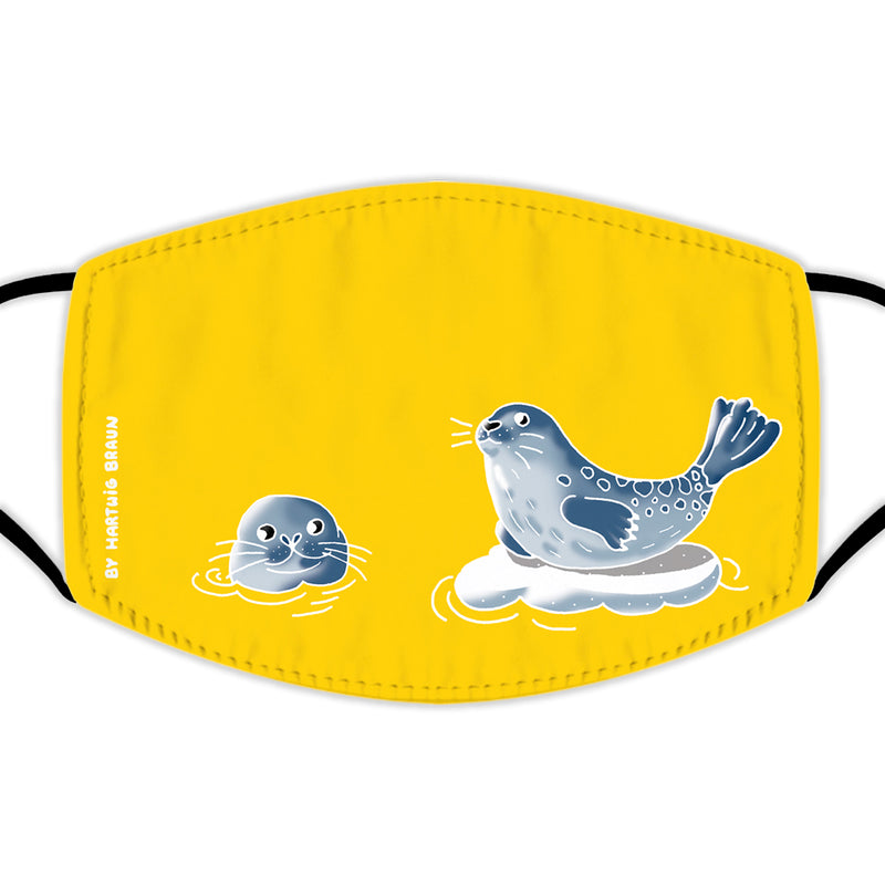 Face Mask With Filters - Two Seals