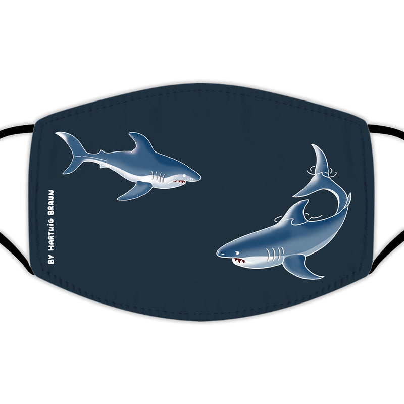 Face Mask With Filters - Whale Out Of Water