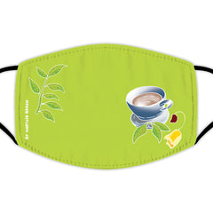 Face Mask With Filters - Teacup & Tea Leaves