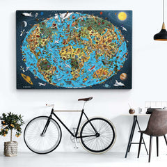 Open Edition Canvas - Our Wonderful Planet