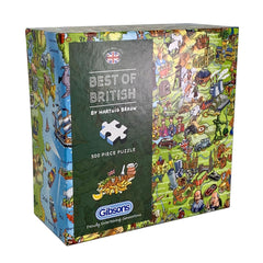 500 Piece Jigsaw Puzzle - Best of British (Jolly Britain)