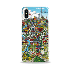 Smartphone 3D Case - Berlin Looking East in Full Colour