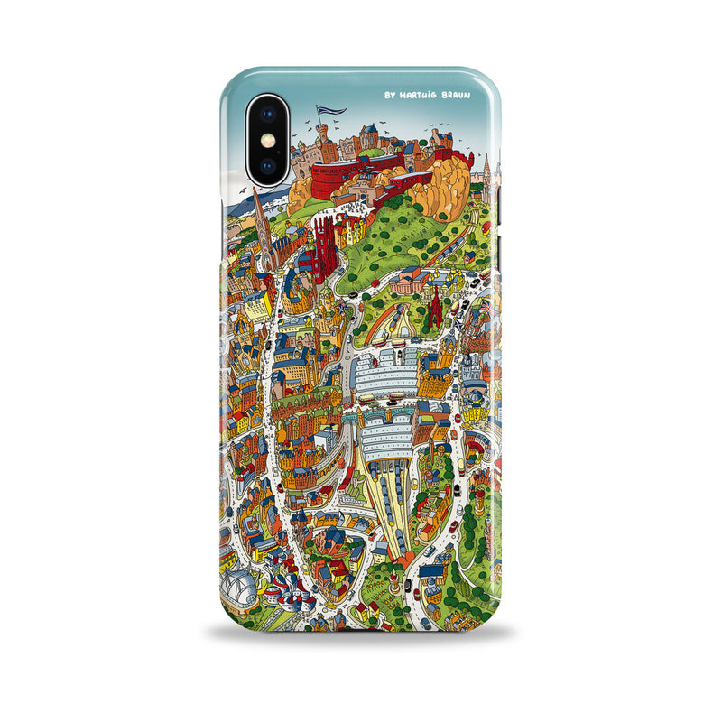 Smartphone 3D Case - Edinburgh Looking West in Full Colour