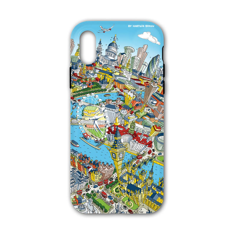 Smartphone 3D Case - London Around Big Ben in Full Colours