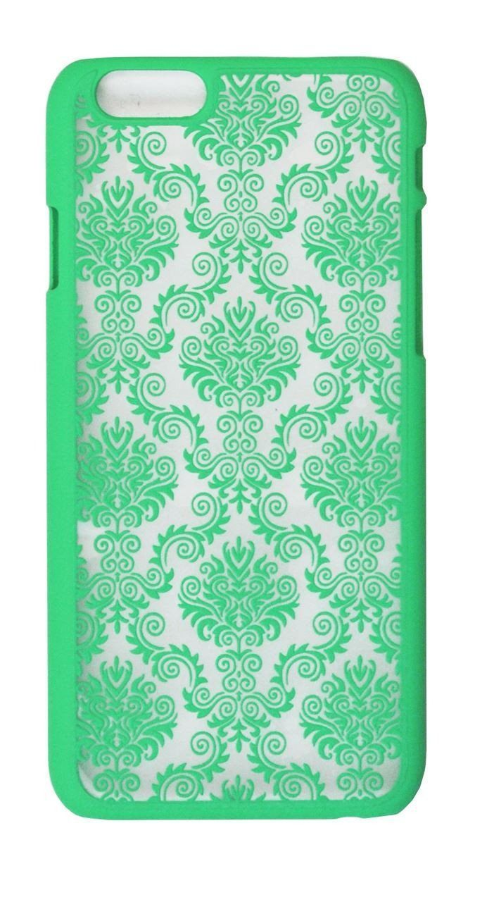 Pattern Case for iPhone 6 Plus - Teal