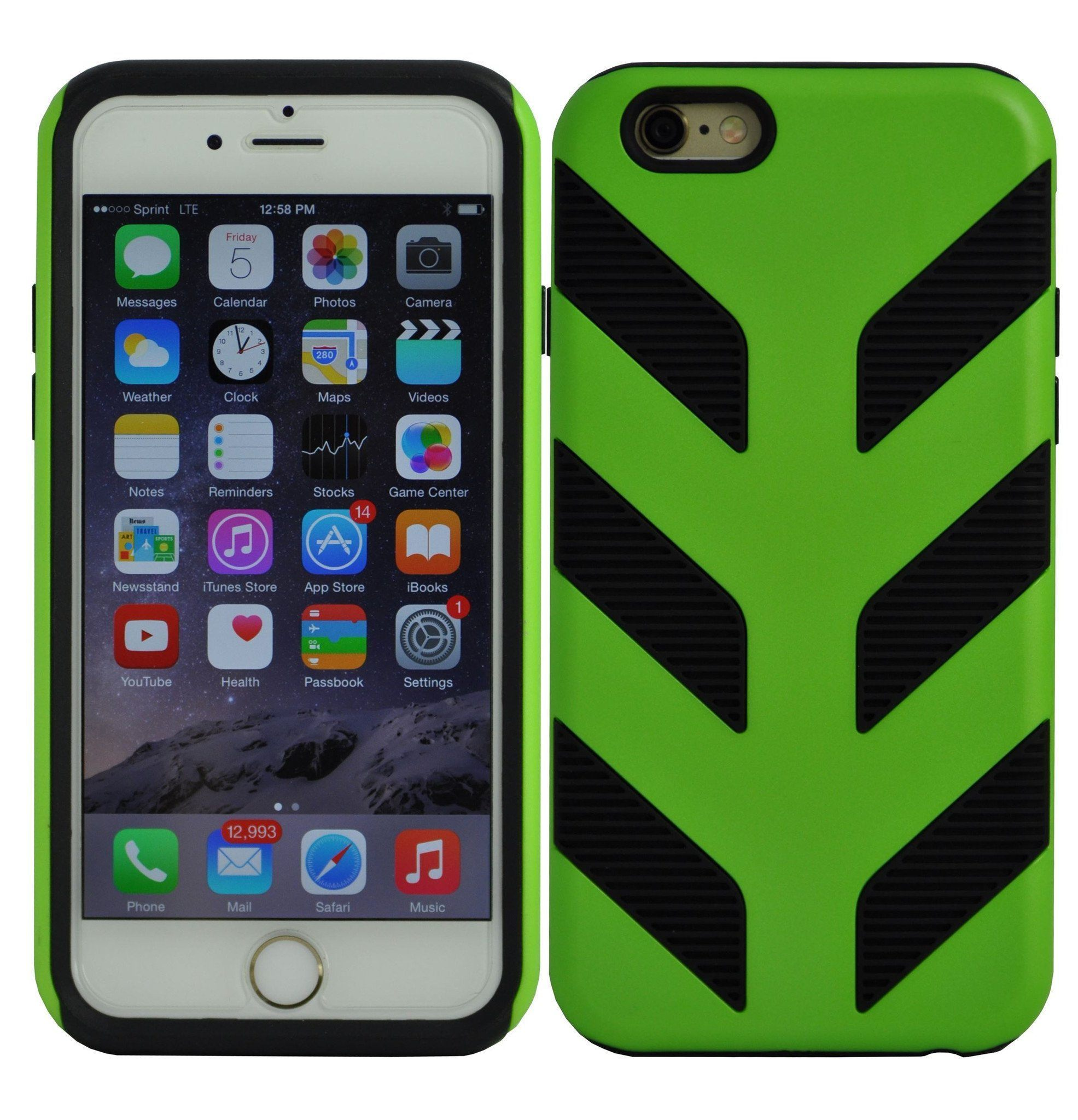 Pirella Case for iPhone 6 Plus - Green