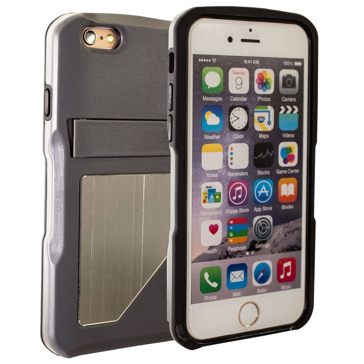 DualPro Standing Case for iPhone 6 Plus - Grey