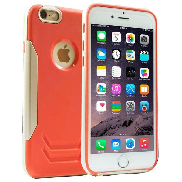 Martin Case for iPhone 6 Plus - Red & Gold