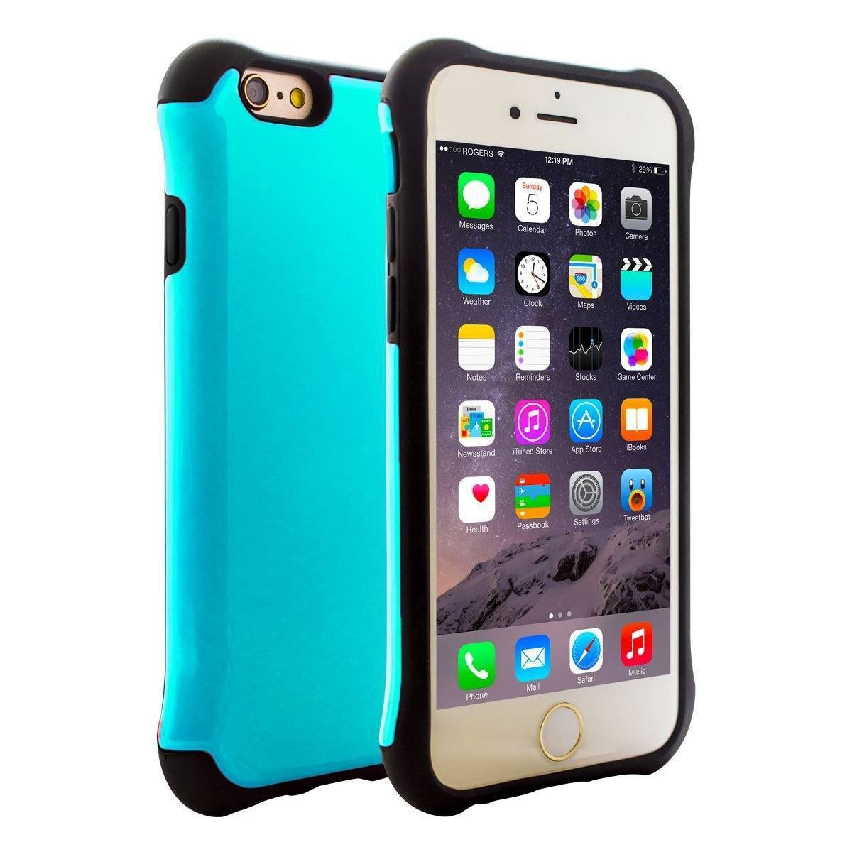 Shiny Square for iPhone 6 - Teal
