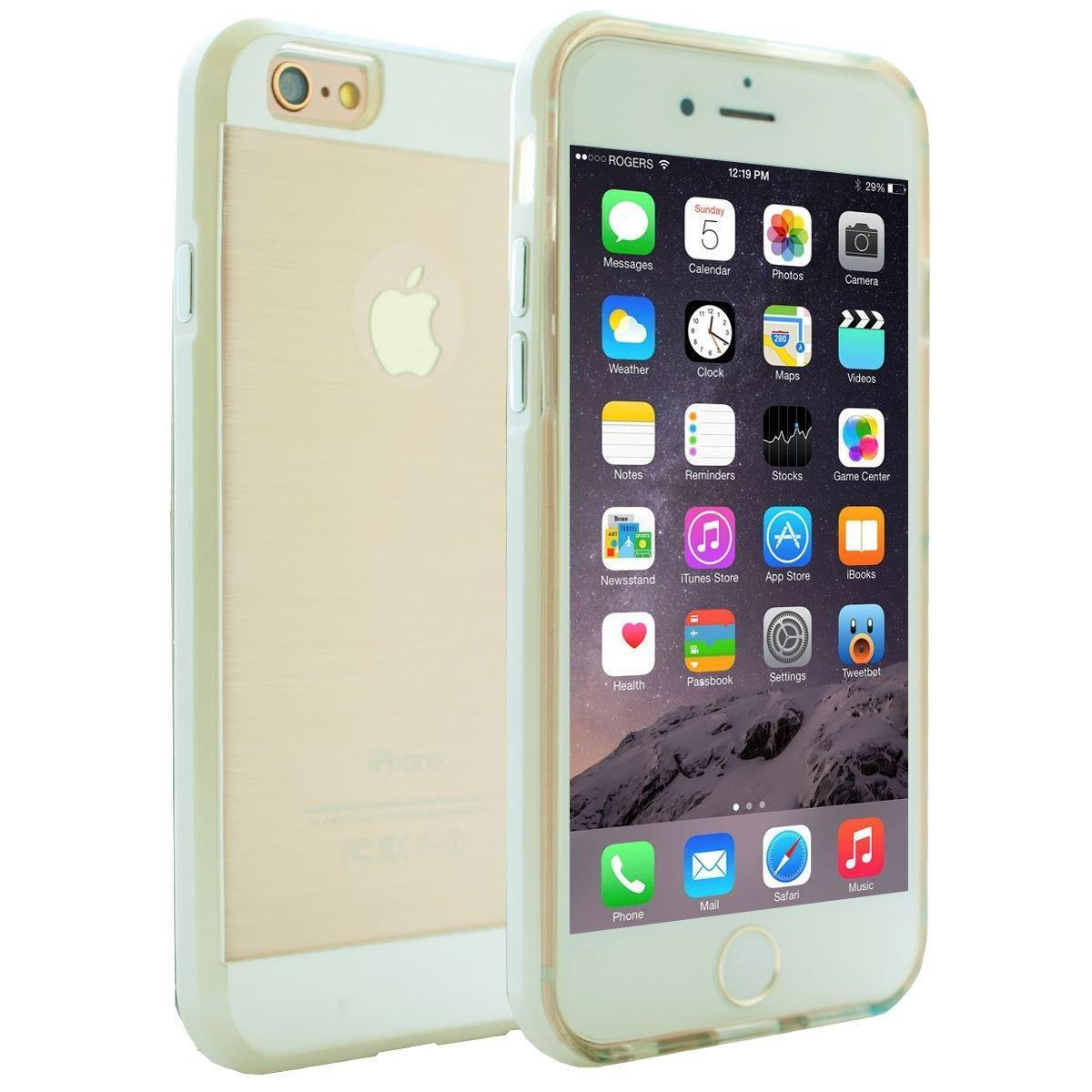 DualPro Bumper Case for iPhone 6 - White