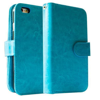 Classic Wallet Case for S6EP - Blue