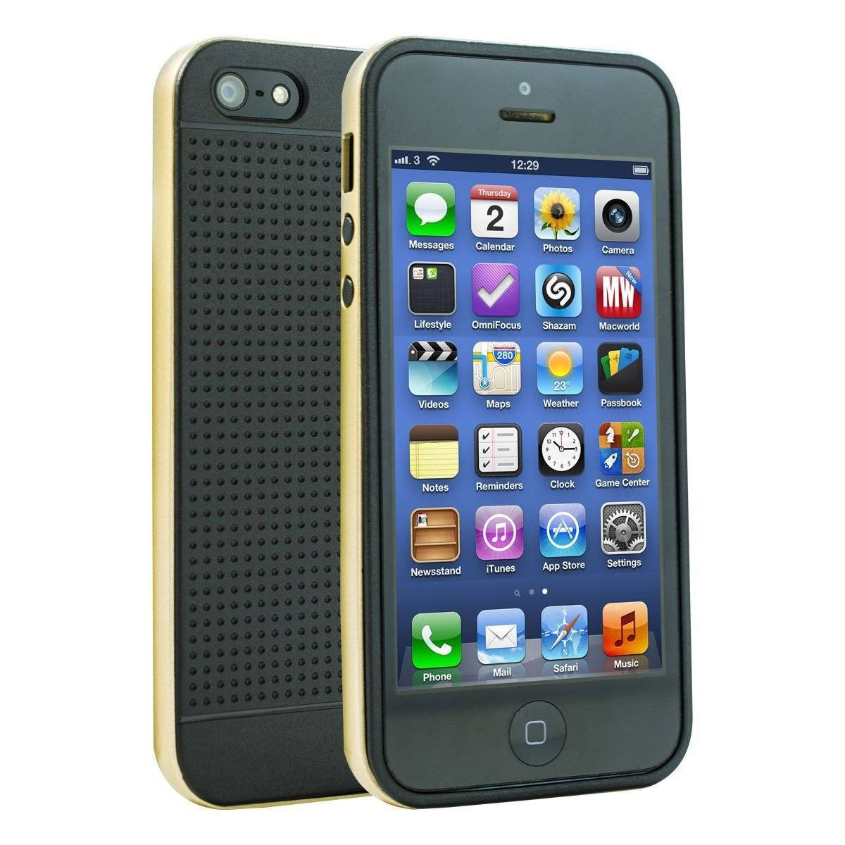 Silica Gel Case for iPhone 6 Plus - Gold